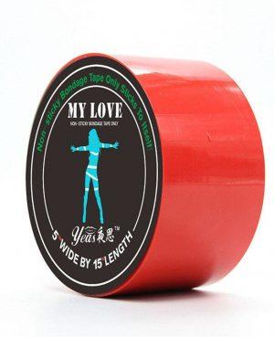 Cinta Tape Negro/Rojo/Rosa